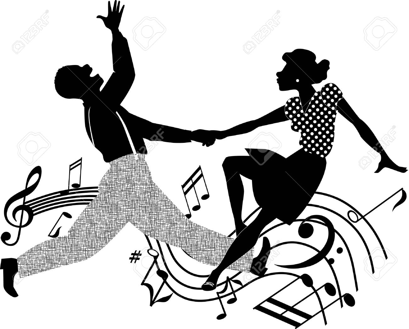 31354423-black-and-white-silhouette-vector-illustration-of-an-african-american-couple-dancing